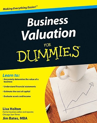 Business Valuation For Dummies By Holton, Lisa